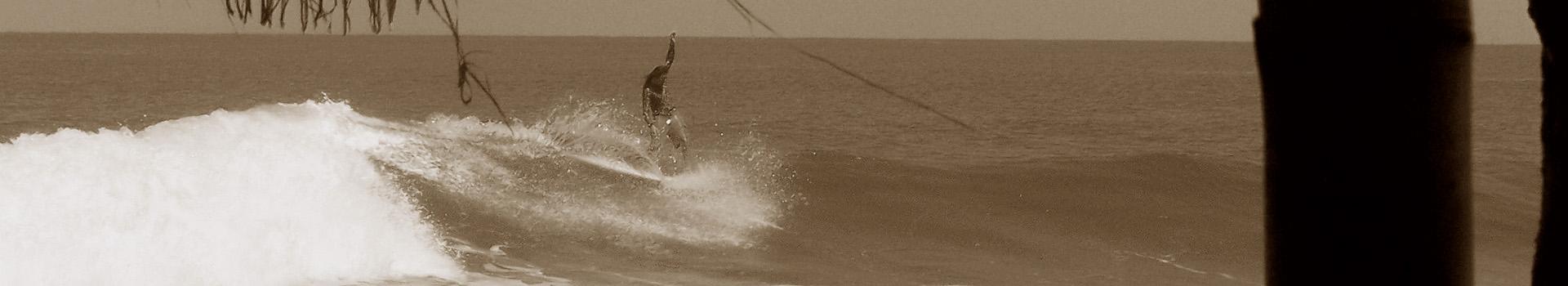 Wellenreiten in der Karibik