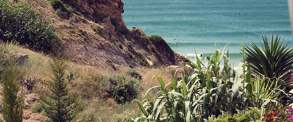 Wellenreiten an der Algarve